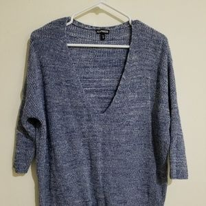 Express 3/4 sleeve Dolman Sweater